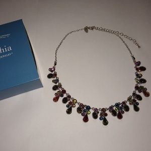 Lia Sofia Gemstone Necklace